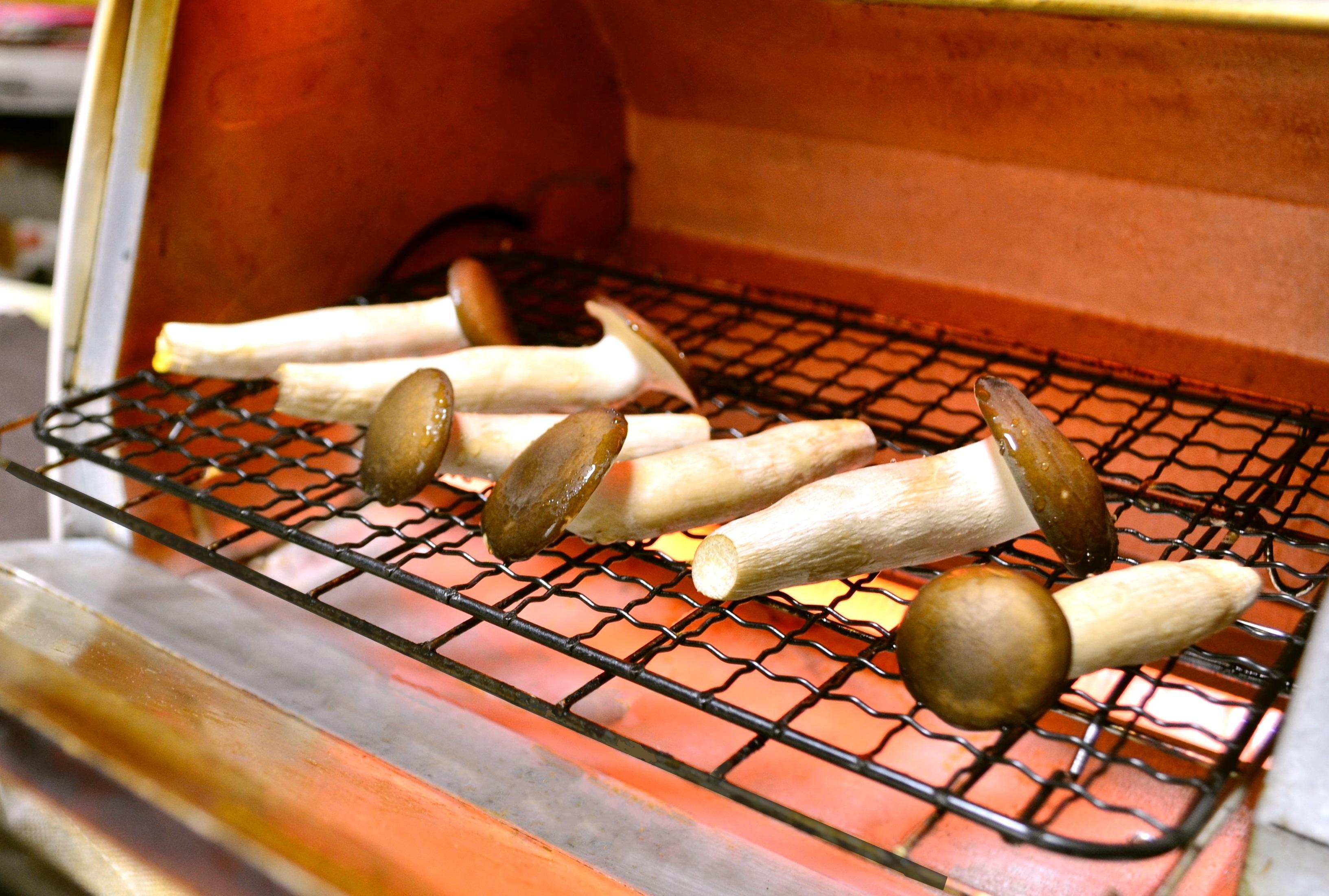 ぶなクイーンのオーブントースター焼き